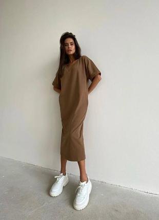 Платье футболка 😍5 фото