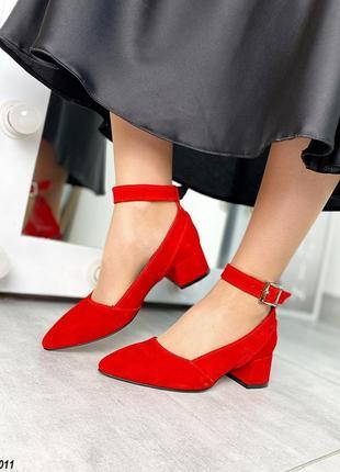 Замшеві туфлі з ремінцями замшевые туфли с ремешками лодочки с острым носиком1 фото