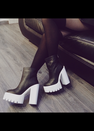 Кожаные ботинки sexy fairy 40 р