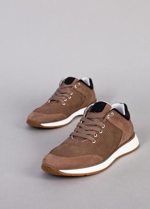 Мужские туфли натуральный нубук новинка