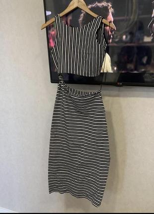 Шикарное платье zara р.м