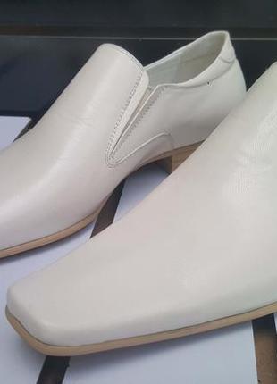 Мужские туфли lido натуральная кожа