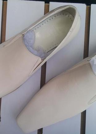 Мужские туфли lido натуральная кожа5 фото