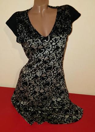 Женское трикотажное к платье бренд desigual