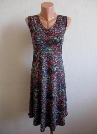 Трикотажное платье в принт aller simplement