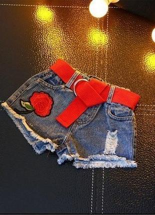 Круті джинсові шорти