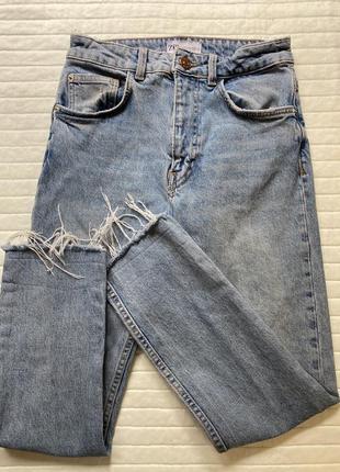Скини зара 34 размер , крутые джинсы зара