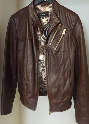 Куртка из телячьей кожи