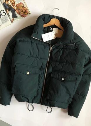 Новая обалденная куртка пуффер oversize sinsay (дутик)