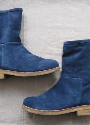 Boden (41) замшевые зимние ботинки