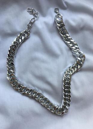 Цепь на шею цепочка ланцюг