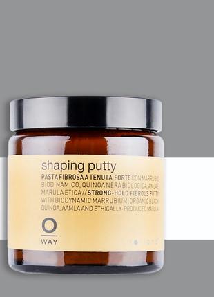 Воск для придания текстуры волосам oway shaping putty 100мл