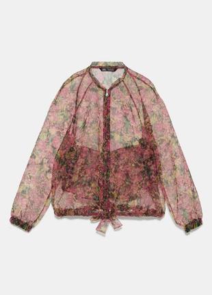 Новая куртка бомбер zara, размер s-m, ветровка зара
