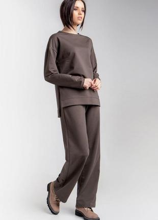 Трикотажный костюм (джемпер и брюки)