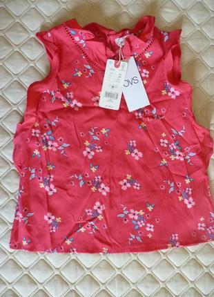 Красивая блуза, кофточка ovs kids италия , размер 128 см, 7-8 лет.