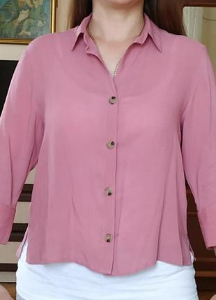 H&m блузка ,актуальна модель ,прямого короткого покрою