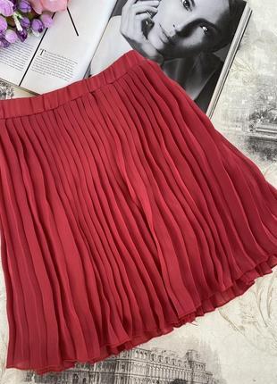 Плиссированная юбка tommy hilfiger denim
