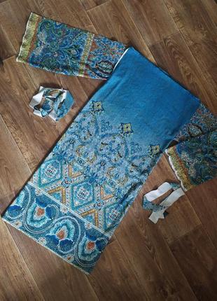 Платье узоры мозаика сукня