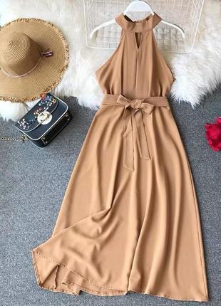 Платье с пояском 😍