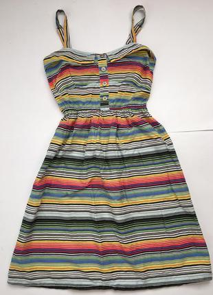 Платье сарафан 100%cotton