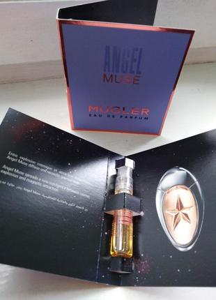 Thierry mugler angel muse оригинальный пробник со спреем