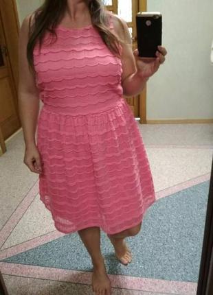 Ажурное платье george