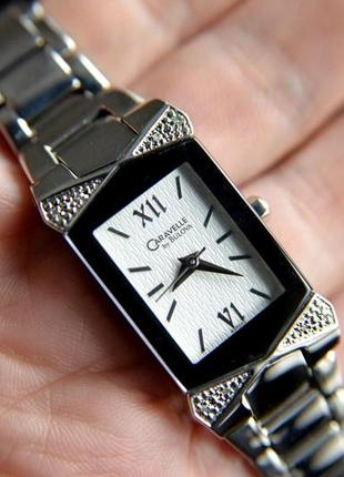 Бриллианты. женские часы-браслет с бриллиантами bulova