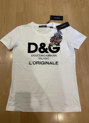 Новая футболка dolce gabbana оригинал