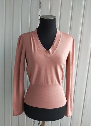 Топ джемпер свитер  трикотажный шёлк strenesse gabriele strehle 38