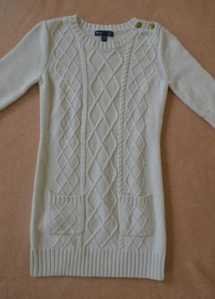 Красивое белое платье gap