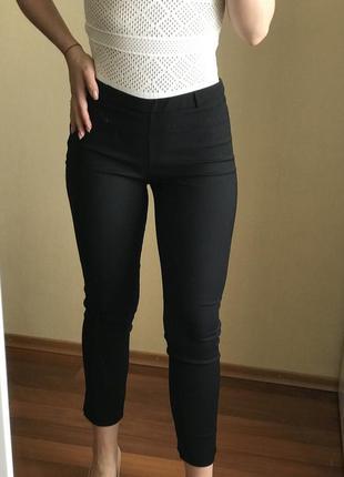 Брюки , классические штаны, высокая посадка