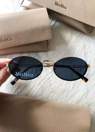 Солнцезащитные очки в стиле maxmara bridge ii max mara макс мара бридж 2