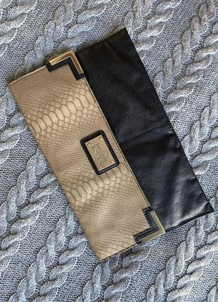 Клатч zebra accessories новый!