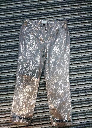 Шикарные котоновые брюки/ стрейч