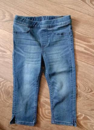 Бриджи джинсовые шорты велосипедки джегинсы