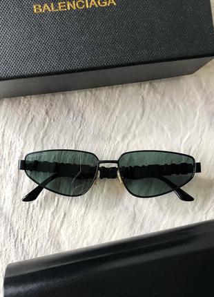 Солнцезащитные очки в стиле balenciaga bb0107s sunglasses баленсиага3 фото