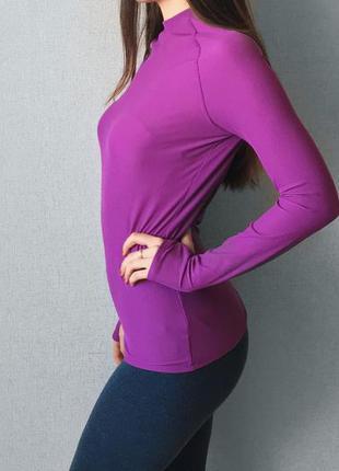 Спортивный реглан фиолетовый asos размер m