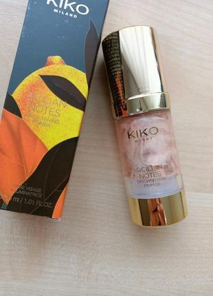 База подмакияж праймер kiko milano для идеальной кожи