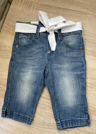 Укорочені джинси для крихітки
