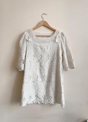 Calvin klein белое платье