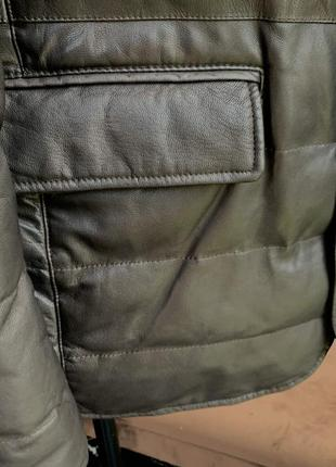 Шкірянка bally  ad unum reversible leather jacket hugo boss8 фото