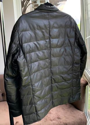 Шкірянка bally  ad unum reversible leather jacket hugo boss4 фото