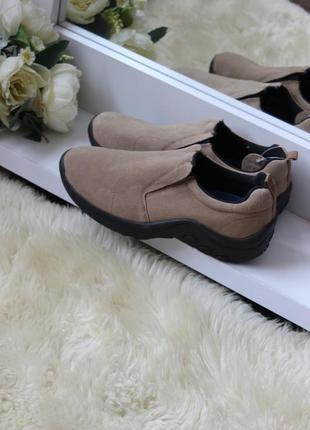 Замшевые туфли /ботинки рр 42