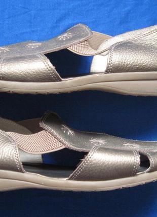 Lifestyle by cushion walk (41) кожаные сандалии женские