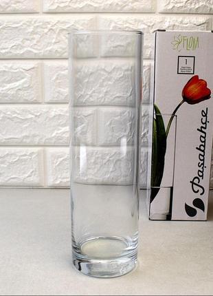 Ваза pasabahce флора 26 см в подарочной упаковке