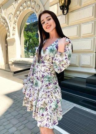 Женственное платье на запах