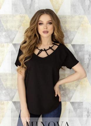 Женская блузка с декоративными петельками + бесплатная доставка нп ?
