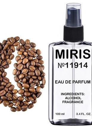 Духи miris №11914 coffee (аромат кофе) унисекс