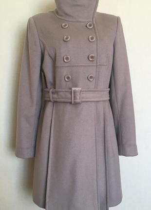 Доступно - классическое пальто *jasper conran от debenhams* 12 р. - 73% шерсть