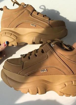 Женские кроссовки на массивной подошве 🧡💛